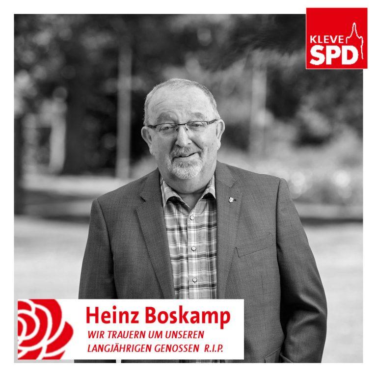 R.i.P. Heinz Boskamp