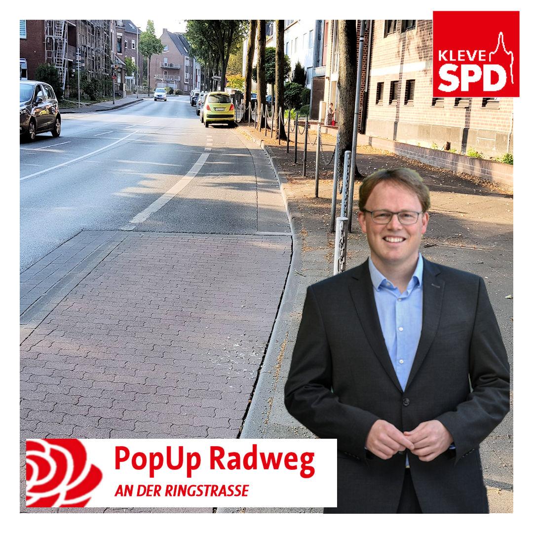 Niklas Lichtenberger fordert PopUp-Radweg