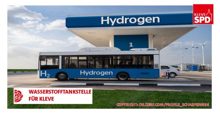 Wasserstofftankstelle für Kleve