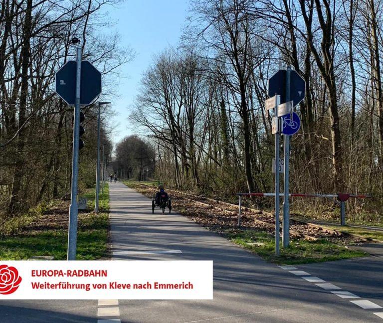 Antrag: Weiterführung der Europa-Radbahn nach Emmerich