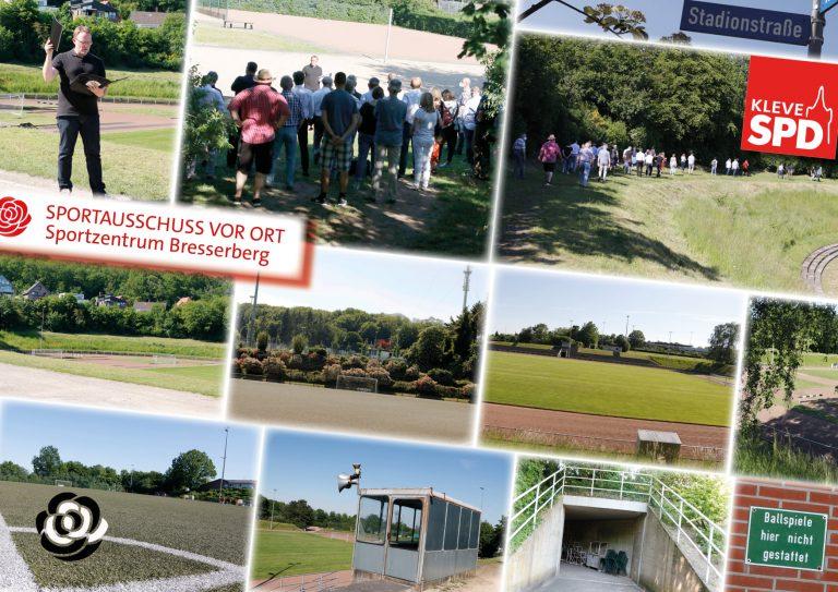 Sportausschuss Kleve zum Sportzentrum Bresserberg: Mittendrin statt nur dabei!