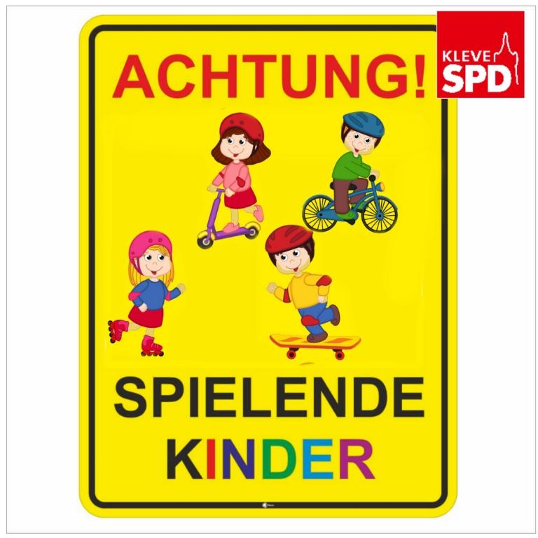 """Kindersicherung Spielplatz """"Klever Uferburg"""" am Opschlag"""