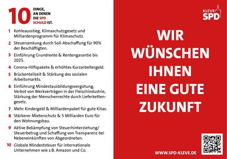 10 Dinge, an denen die SPD schuld ist!