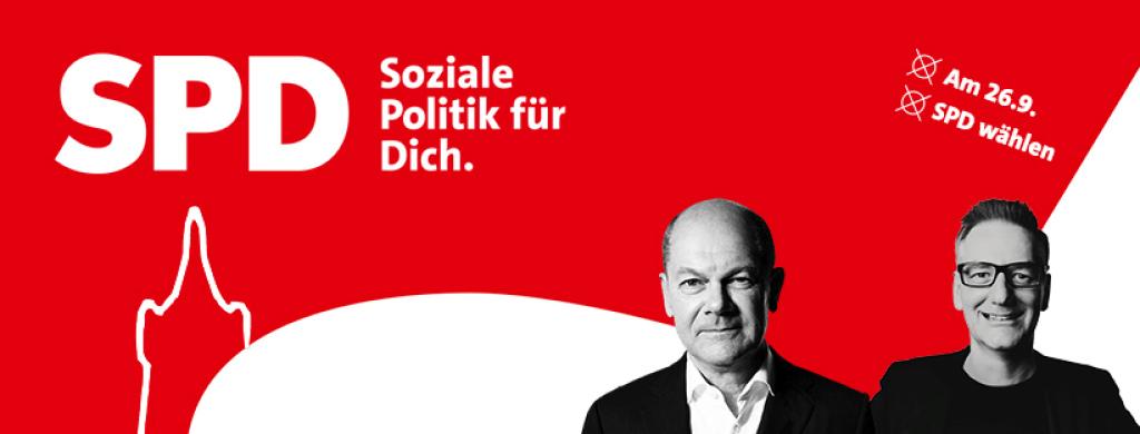 SPD Bundestagswahl 2021 - Soziale Politik für Dich