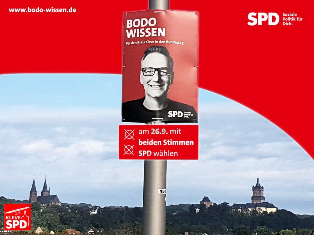 Plakataktion Bundestagswahl 2021
