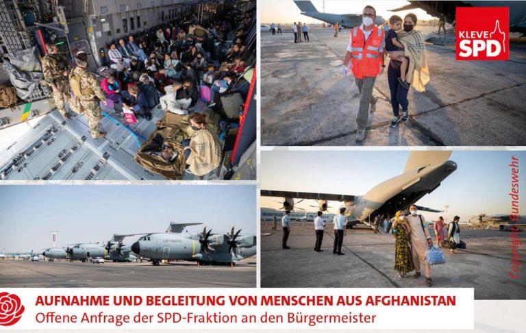 Aufnahme und Begleitung von Menschen aus Afghanistan