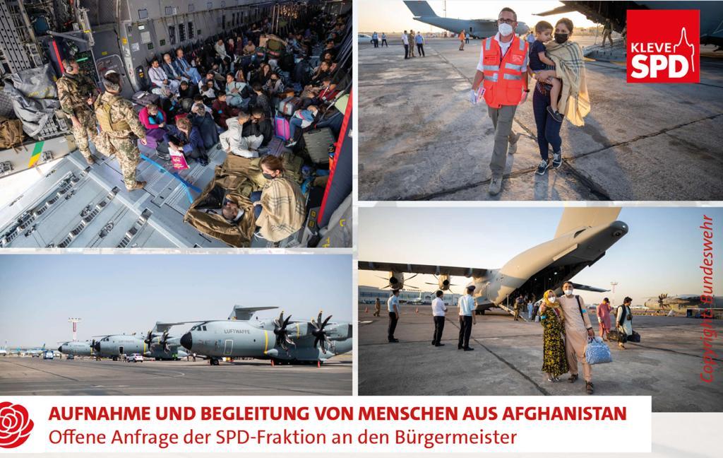 Aufnahme und Begleitung von Menschen aus Afghanistan.